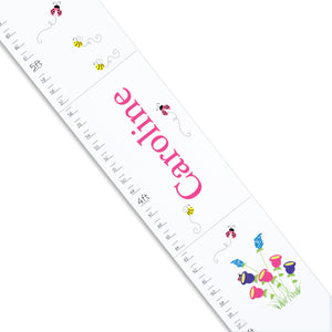 White English Garden Growth Chart