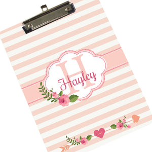 Monogrammed Follow Your Arrow Clipboard