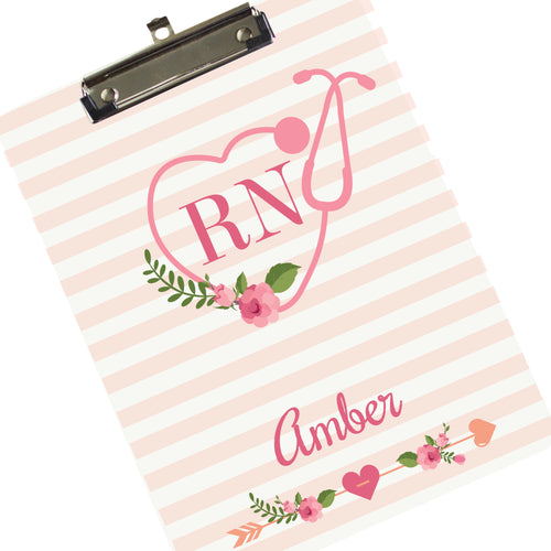Personalized Nurse's Clipboard RN