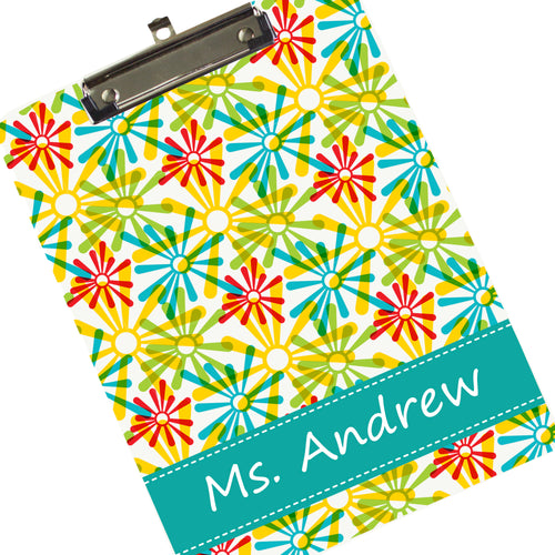 Personalized Starburst Clipboard