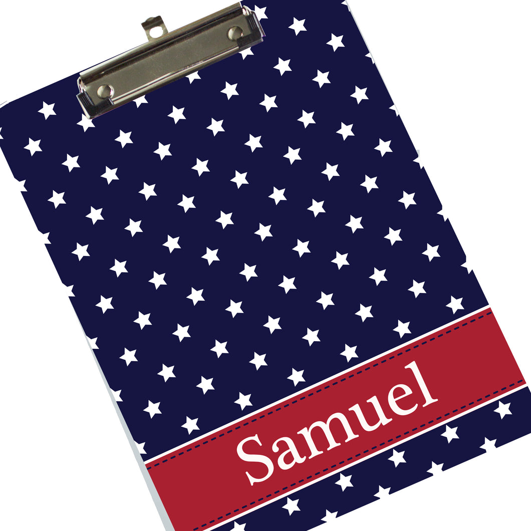 Custom Star Spangle Clipboard