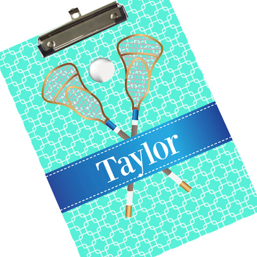 Custom Lacrosse Coach Clipboard