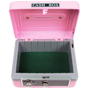 Personalized African American Mermaid Princess Childrens Pink Cash Box