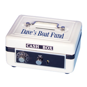 White Cash Box - Name Only