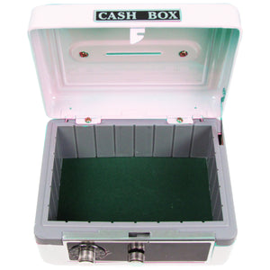 White Cash Box - Single Butterfly