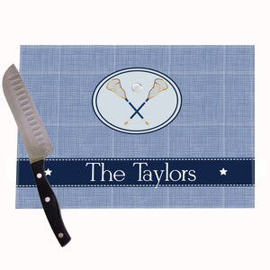 Lacrosse Personalized Cutting Board