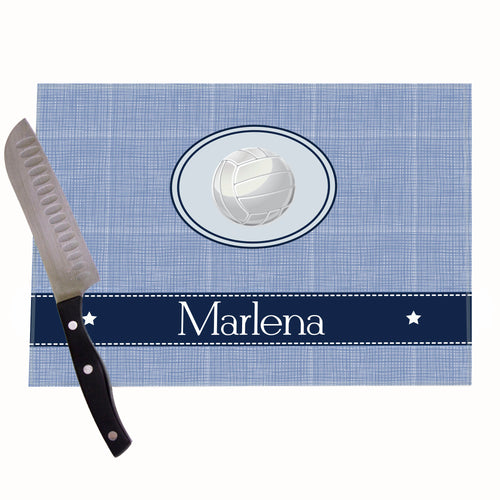 Volley Ball Personalized Cutting Board
