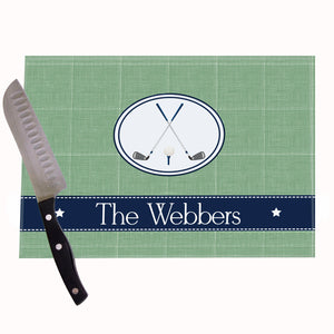Golf Personalized Cutting Board