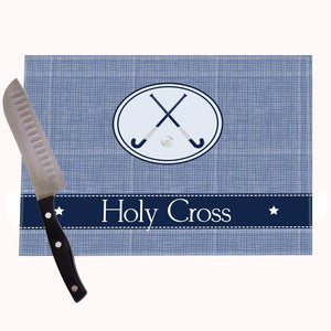 Field Hockey Personalized Cutting Board