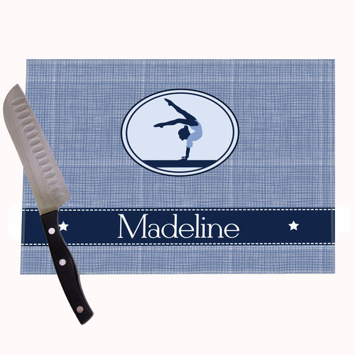 Gymnastics Personalized Cutting Board