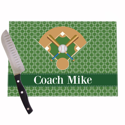 Baseball Field Personalized Cutting Board