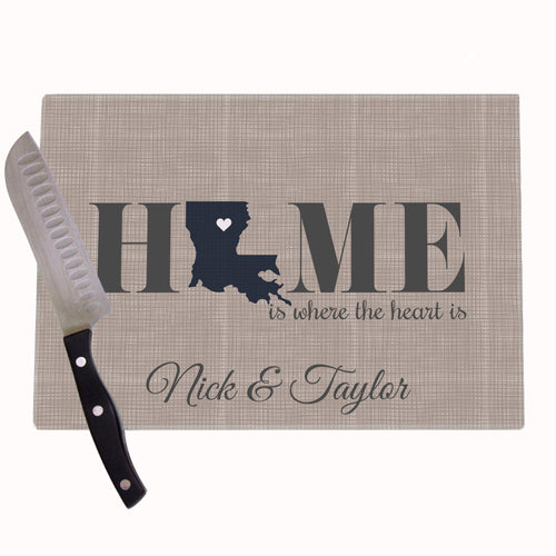 Home Is Personalized Cutting Board