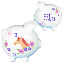 Girls Little pony piggy bank