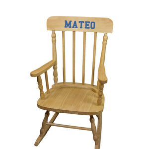 Natural Spindle Rocking Chair -Name Only