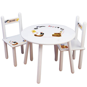 childs pirate table chair set