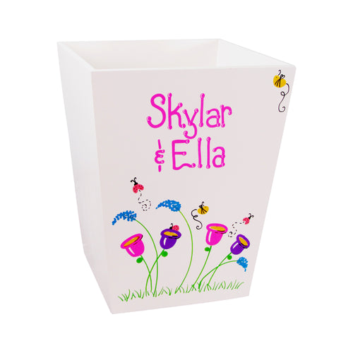 Personalized Wastebasket
