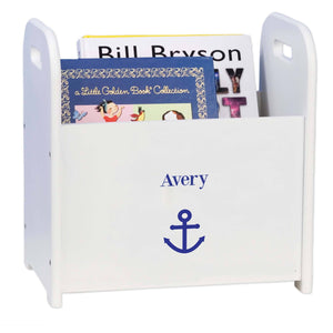 Personalized Single Anchor Design Book Caddy And Holder