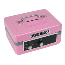 Pink Cash Box - Name Only Text