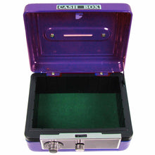 Purple Bright Butterfly Garland Cash Box