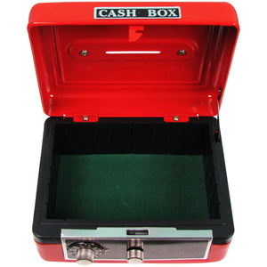Stemmed Flowers Red Cash Box