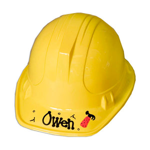 Personalized Hard Hat Construction Helmet