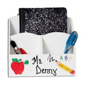 personalized teachers desk sorter