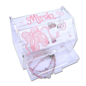 girls personalized earing organizer