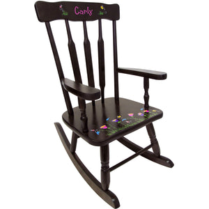 childrens victorian rocking chair