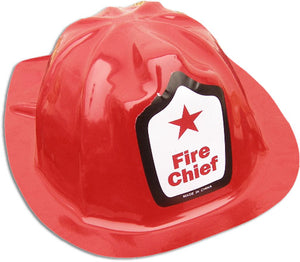 Hard Plastic Fire Helmet Hat