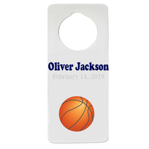 Single Basketball Door Hanger