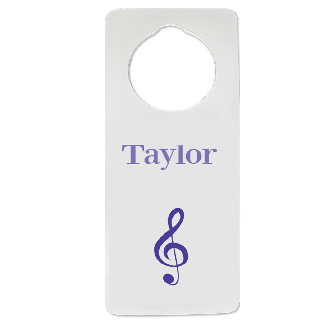 Single Music Door Hanger