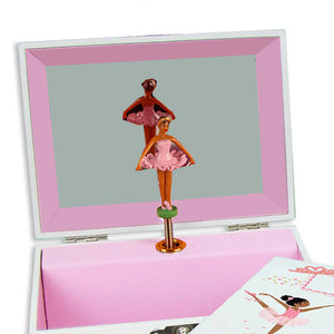 Tribal Arrow Girl Deluxe Musical Ballerina Jewelry Box