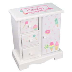 Jewelry Armoire - Sweet Treats