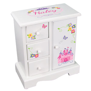 Jewelry Armoire - Princess Castle