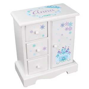 Jewelry Armoire - Winter Castle
