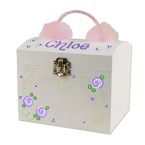 marabou ballerina jewelry box