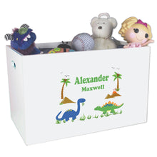 Personalized Dinosaur Toy Box for kids