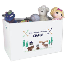 Bear Woods Moose Toy Box