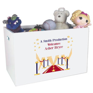 Open Top Toy Box - A Star Is Born Blue