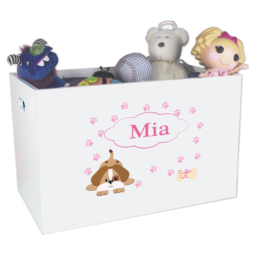 Personailzed Bin for Dog Toys