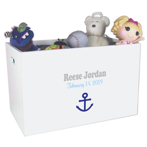Open Top Toy Box - Single Anchor