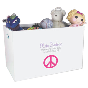 Open Top Toy Box - Single Peace