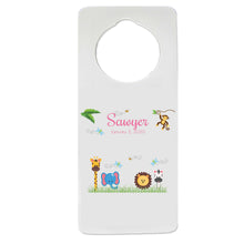 Jungle Animal Door Hanger