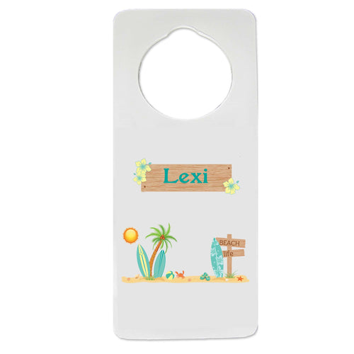 Surfs Up Door Hanger