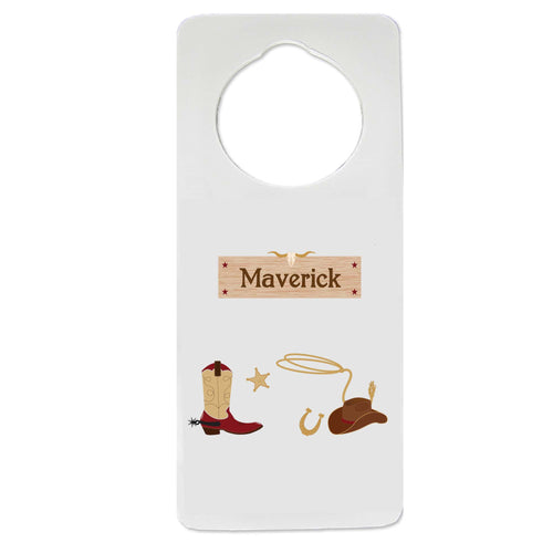 Wild West Door Hanger