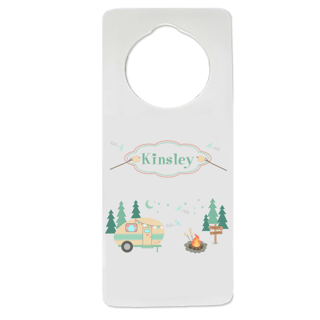 Camp S'mores Door Hanger