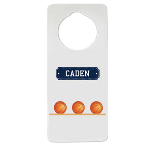 Basketball Door Hanger