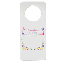 Bright Butterfly Garland Door Hanger