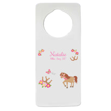 Prancing Pony Door Hanger
