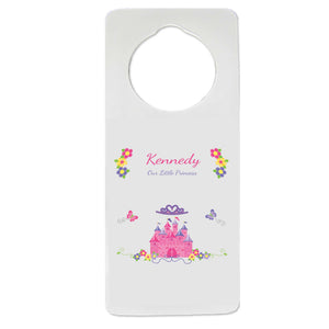 Princess Castle Door Hanger